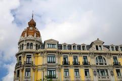 Modernist building in Oviedo, Asturias Stock Image
