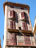 Modernist building in Palma de Majorca Royalty Free Stock Image