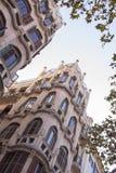 Modernist building in Palma de Mallorca. Balearic islands Royalty Free Stock Photos