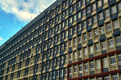 Modernist facade University of Technology Stock Photo