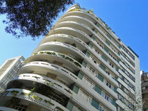 Modernist residential building Stock Images