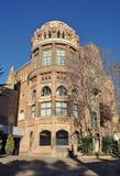 Modernist Site of Sant Pau. Hospital of Santa Creu and Sant Pau Barcelona royalty free stock photos