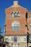Modernist Site of Sant Pau. Hospital of Santa Creu and Sant Pau Barcelona royalty free stock photography