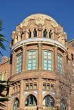 Modernist Site of Sant Pau. Hospital of Santa Creu and Sant Pau Barcelona royalty free stock images