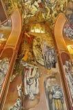 Modernist style fresco Stock Image