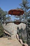 Modernist viewpoint can Bordoi-Llinars del Valles Stock Image
