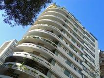Modernist woningbouw Stock Afbeeldingen