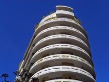 Modernist woningbouw Stock Foto's