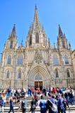 Modernista d'Edificio - Barcelone España images libres de droits