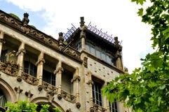 Modernista di Edificio - Barcellona España Fotografie Stock