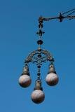 Moderniste Barcelone de lampe Photographie stock libre de droits