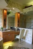Modernistic Bathroom Royalty Free Stock Photography