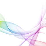 Modernistic bright colorful motion background Royalty Free Stock Photography