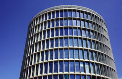 Modernistic building in Poznan Stock Photography