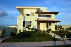 Modernistic house design Stock Photos