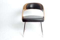 A modernistic retro design chair Stock Photos