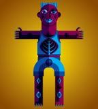 Modernistic vector illustration, geometric cubism style avatar i Stock Photo