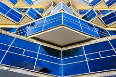 Modernistisches Gebäude-Design Stockbild
