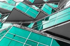 Modernistisches Gebäude-Design Lizenzfreies Stockfoto