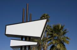 Modernistisches Zeichen Lizenzfreies Stockbild