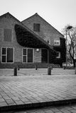 Modernistisk arkitektur - Århus universitet, Danmark Fotografering för Bildbyråer