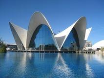 Modernistisk byggnad Arkivfoton