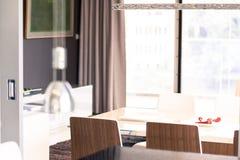 Modernistisk lägenhet Royaltyfria Foton