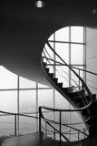 modernistisk trappa Arkivfoto