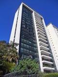 Modernistyczny budynek mieszkalny Obraz Stock