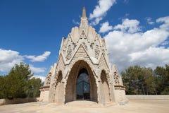 Modernistyczny kościół Montferri obrazy royalty free
