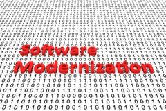 Modernización del software Foto de archivo
