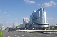 Modernization of infrastructure in Poland Stock Photo