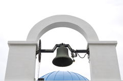 Modernized bell tower. Modernized bell tower, the use of electric mode ring the bell Stock Images