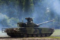 Modernized tank Serbian Army Stock Photo
