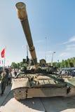 Modernized tank T-80. Russia Royalty Free Stock Photos