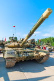 Modernized tank T-72. Russia Stock Images