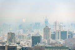 Modernizzando della città fredda orientale Fotografie Stock