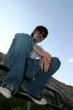 Moderno adolescente Foto de Stock