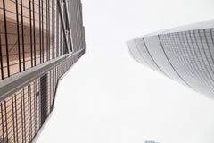 moderno alto di costruzione Immagini Stock