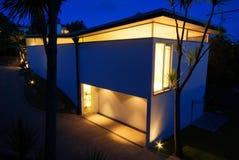 Moderno, casa del progettista Fotografia Stock Libera da Diritti