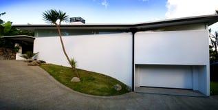 Moderno, casa del progettista Fotografia Stock
