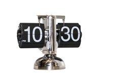 Moderno del reloj del reloj de la alarma aislado Fotos de archivo libres de regalías