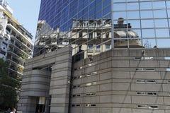 Moderno e velho - Buenos Aires Imagem de Stock Royalty Free