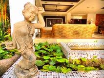 Moderno home tailandês imagem de stock royalty free