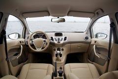moderno interno dell'automobile Immagini Stock