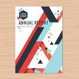 Moderno limpe a tampa para a proposta do negócio, informe anual, folheto, inseto, folheto, apresentação incorporada, capa do livr Fotos de Stock