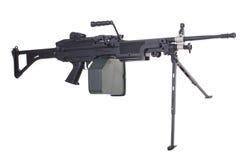 Moderno mitragliatrice dell'esercito americano Immagine Stock