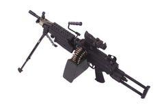 Moderno mitragliatrice dell'esercito americano Fotografia Stock