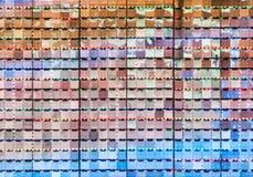 Moderno refleje la pared foto de archivo libre de regalías