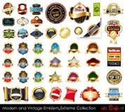 Moderno y vendimia simboliza la colección extrema.